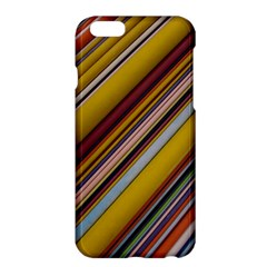 Colourful Lines Apple Iphone 6 Plus/6s Plus Hardshell Case by Nexatart