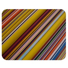 Colourful Lines Double Sided Flano Blanket (medium)  by Nexatart