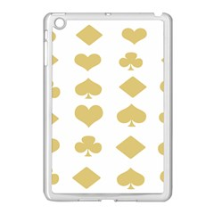 Card Symbols Apple Ipad Mini Case (white) by Mariart