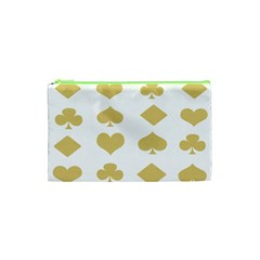 Card Symbols Cosmetic Bag (xs) by Mariart