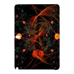 Fractal Wallpaper With Dancing Planets On Black Background Samsung Galaxy Tab Pro 10 1 Hardshell Case