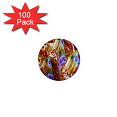 3 Carousel Ride Horses 1  Mini Buttons (100 Pack)