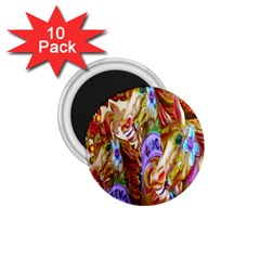 3 Carousel Ride Horses 1 75  Magnets (10 Pack)  by Nexatart