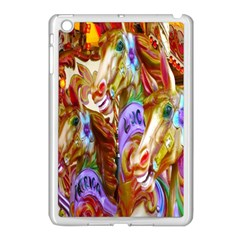 3 Carousel Ride Horses Apple Ipad Mini Case (white)