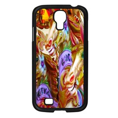 3 Carousel Ride Horses Samsung Galaxy S4 I9500/ I9505 Case (black) by Nexatart