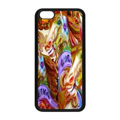 3 Carousel Ride Horses Apple Iphone 5c Seamless Case (black)