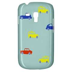 Car Yellow Blue Orange Galaxy S3 Mini by Mariart