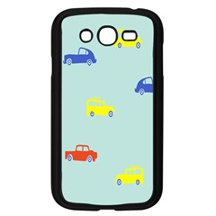 Car Yellow Blue Orange Samsung Galaxy Grand Duos I9082 Case (black) by Mariart
