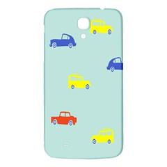 Car Yellow Blue Orange Samsung Galaxy Mega I9200 Hardshell Back Case by Mariart
