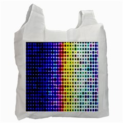 A Creative Colorful Background Recycle Bag (two Side)  by Nexatart