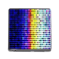 A Creative Colorful Background Memory Card Reader (square)