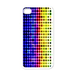 A Creative Colorful Background Apple Iphone 4 Case (white) by Nexatart