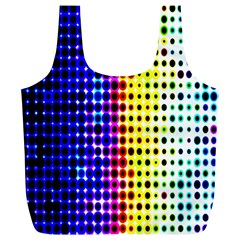 A Creative Colorful Background Full Print Recycle Bags (l)  by Nexatart