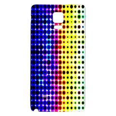A Creative Colorful Background Galaxy Note 4 Back Case by Nexatart