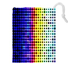 A Creative Colorful Background Drawstring Pouches (xxl) by Nexatart