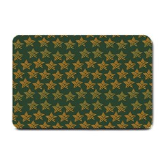 Stars Pattern Background Small Doormat