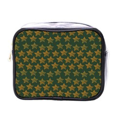 Stars Pattern Background Mini Toiletries Bags by Nexatart