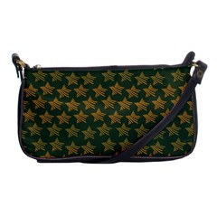 Stars Pattern Background Shoulder Clutch Bags by Nexatart