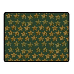 Stars Pattern Background Fleece Blanket (small) by Nexatart