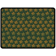 Stars Pattern Background Double Sided Fleece Blanket (large)  by Nexatart