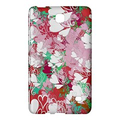 Confetti Hearts Digital Love Heart Background Pattern Samsung Galaxy Tab 4 (7 ) Hardshell Case  by Nexatart