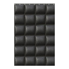 Black Cell Leather Retro Car Seat Textures Shower Curtain 48  X 72  (small)  by Nexatart