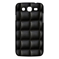 Black Cell Leather Retro Car Seat Textures Samsung Galaxy Mega 5 8 I9152 Hardshell Case