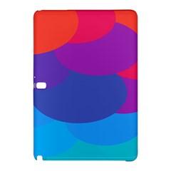 Circles Colorful Balloon Circle Purple Blue Red Orange Samsung Galaxy Tab Pro 12 2 Hardshell Case by Mariart