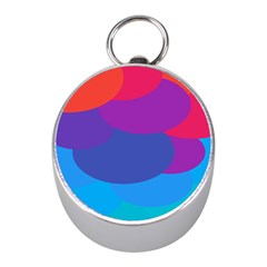 Circles Colorful Balloon Circle Purple Blue Red Orange Mini Silver Compasses by Mariart