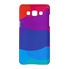 Circles Colorful Balloon Circle Purple Blue Red Orange Samsung Galaxy A5 Hardshell Case  by Mariart