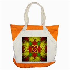 Digital Color Ornament Accent Tote Bag by Nexatart