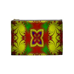 Digital Color Ornament Cosmetic Bag (medium)