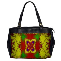 Digital Color Ornament Office Handbags
