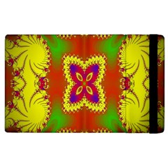 Digital Color Ornament Apple Ipad 3/4 Flip Case by Nexatart