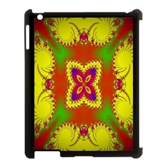 Digital Color Ornament Apple Ipad 3/4 Case (black) by Nexatart