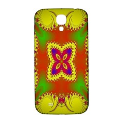 Digital Color Ornament Samsung Galaxy S4 I9500/i9505  Hardshell Back Case