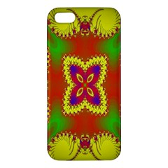 Digital Color Ornament Iphone 5s/ Se Premium Hardshell Case by Nexatart