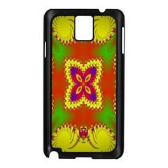 Digital Color Ornament Samsung Galaxy Note 3 N9005 Case (black)