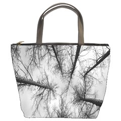 Trees Without Leaves Bucket Bags by Nexatart