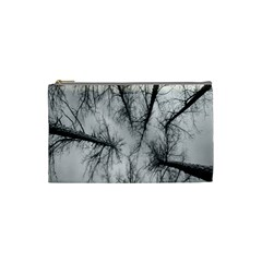 Trees Without Leaves Cosmetic Bag (small)  by Nexatart