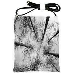 Trees Without Leaves Shoulder Sling Bags by Nexatart