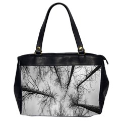Trees Without Leaves Office Handbags (2 Sides)