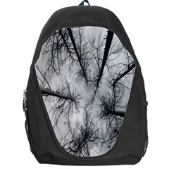 Trees Without Leaves Backpack Bag by Nexatart