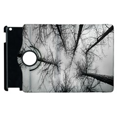 Trees Without Leaves Apple Ipad 2 Flip 360 Case by Nexatart