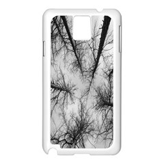 Trees Without Leaves Samsung Galaxy Note 3 N9005 Case (white)