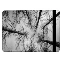 Trees Without Leaves Samsung Galaxy Tab Pro 12 2  Flip Case by Nexatart