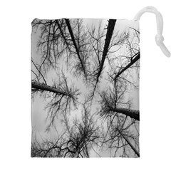 Trees Without Leaves Drawstring Pouches (xxl) by Nexatart