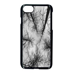 Trees Without Leaves Apple Iphone 7 Seamless Case (black) by Nexatart