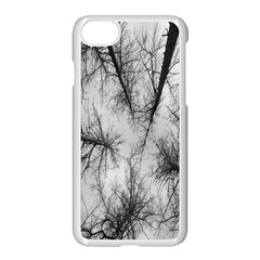 Trees Without Leaves Apple Iphone 7 Seamless Case (white) by Nexatart