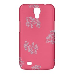 Branch Berries Seamless Red Grey Pink Samsung Galaxy Mega 6 3  I9200 Hardshell Case by Mariart